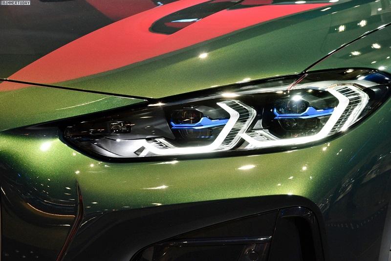 Cụm đèn pha BMW 430i Convertible được trang bị đèn Laserlight .