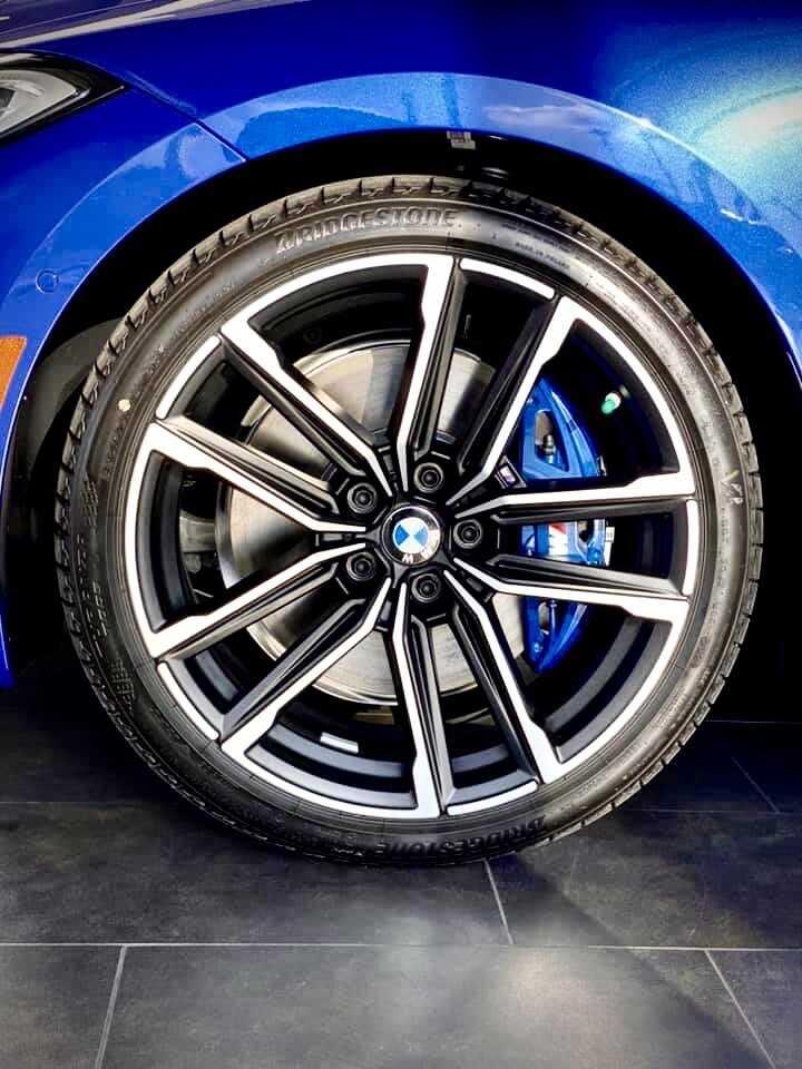 Mâm xe BMW 430i Convertible 2021. mâm trang bị gói'M Sport.
