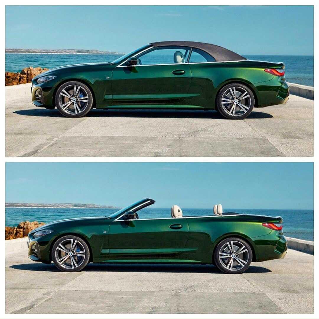 BMW 430i Convertible 2021 trước và sau khi biết hóa.